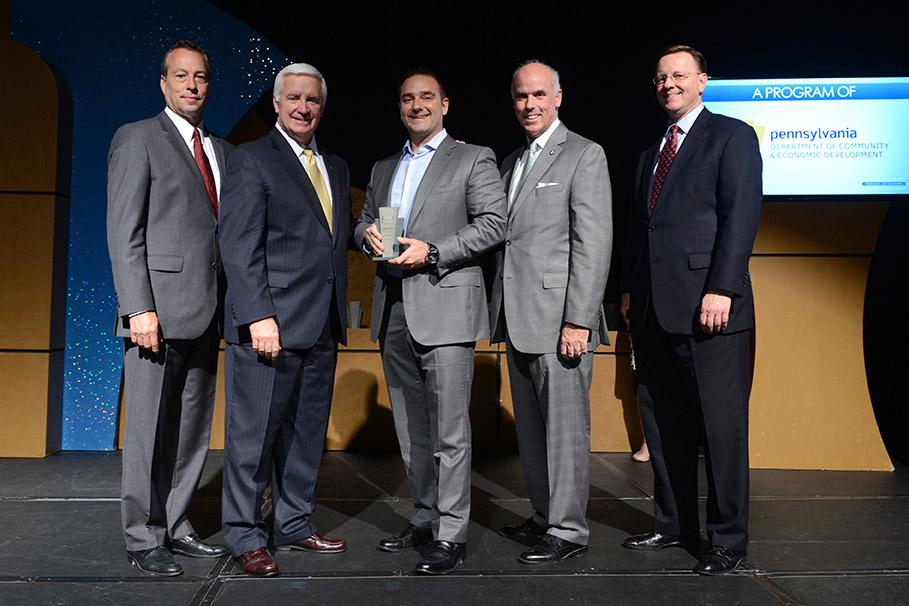 Net Driven Receives Governor's Entrepreneurial Impact Award