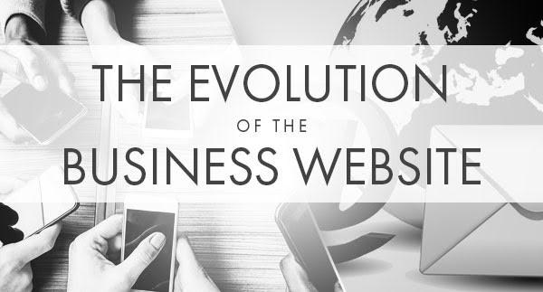 Business Website Design Evolution