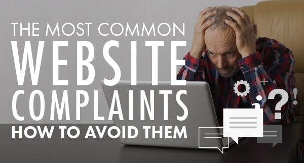 Top Complaints About Business Websites