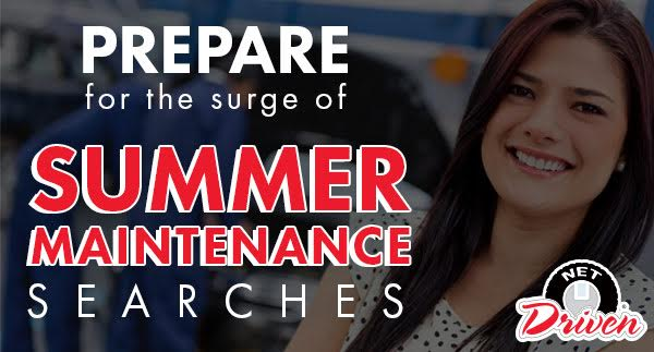 Prepare for the Surge of Summer Road Trip Maintenance Searches