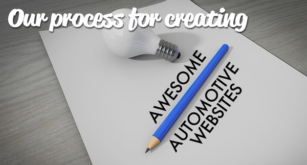 Our Process for Creating Awesome Automotive Websites